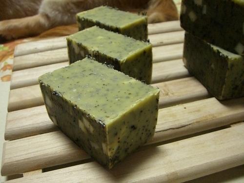 #10緑茶石鹸2
